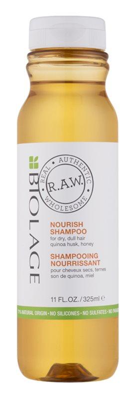 Biolage RAW Nourish vyživující šampon pro suché a hrubé vlasy