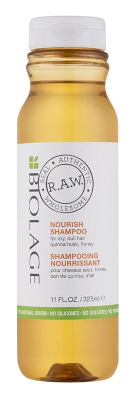 Biolage RAW Nourish vyživujúci šampón pre suché a hrubé vlasy