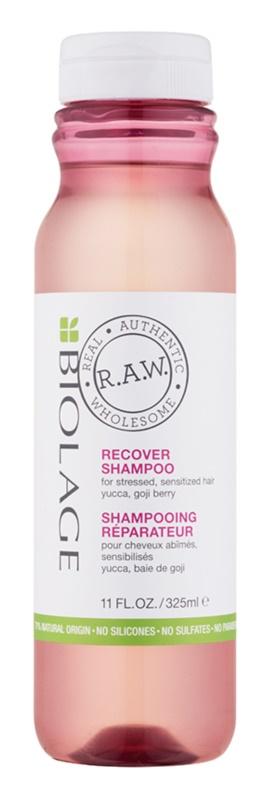Biolage RAW Recover champô regenerador para cabelo enfraquecido