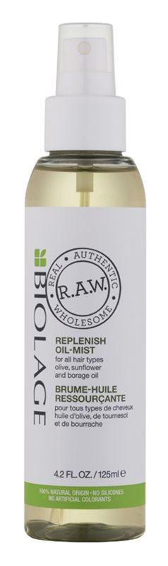 Biolage RAW Replenish hydratační a vyživující olej na vlasy