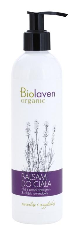 Biolaven Body Care vyhlazující tělové mléko pro hydrataci a vypnutí pokožky