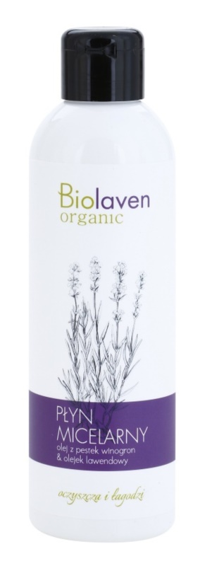 Biolaven Face Care oczyszczający płyn micelarny z lawendą