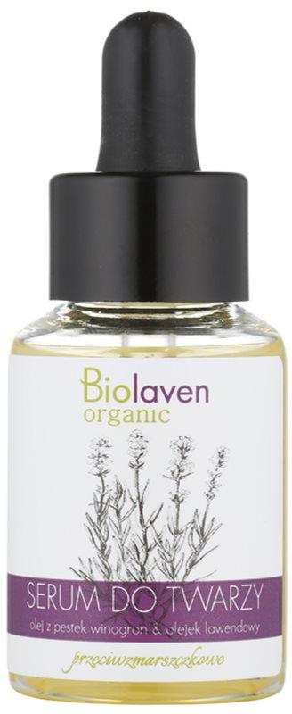 Biolaven Face Care protivráskové a hydratačné sérum s levanduľou