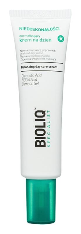 Bioliq Specialist Imperfections crème de jour normalisante effet hydratant