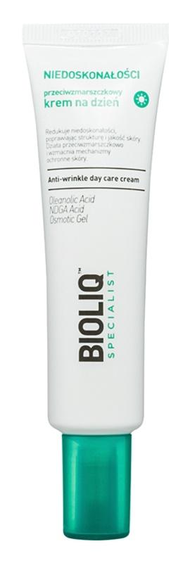 Bioliq Specialist Imperfections crema antiarrugas de día con efecto humectante