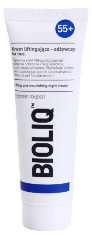 Bioliq 55+ intenzivna krema za noć za regeneraciju i obnovu lica