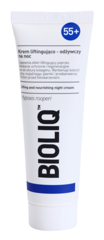 Bioliq 55+ noční intenzivní krém pro regeneraci a obnovu pleti
