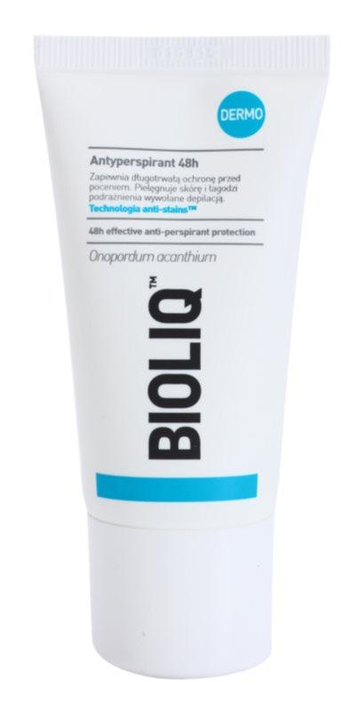 Bioliq Dermo antitranspirante roll-on para pieles sensibles y depiladas