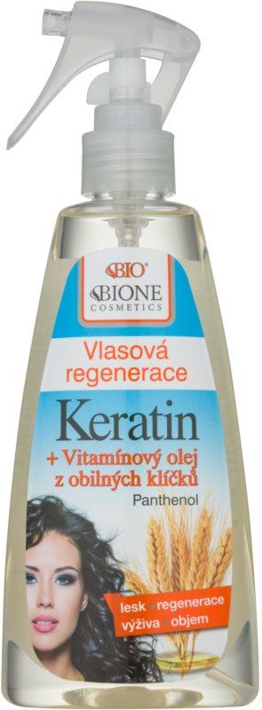 Bione Cosmetics Keratin Grain bezoplachová vlasová starostlivosť v spreji