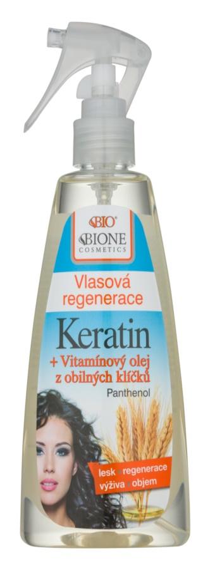 Bione Cosmetics Keratin Grain tratamiento capilar sin aclarado en spray