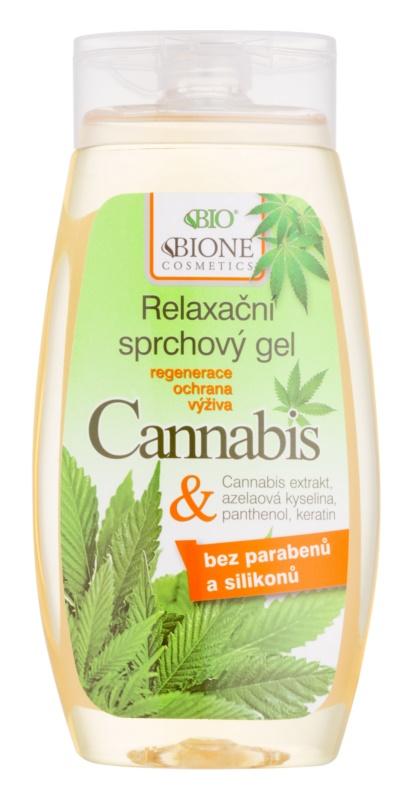 Bione Cosmetics Cannabis gel de ducha calmante