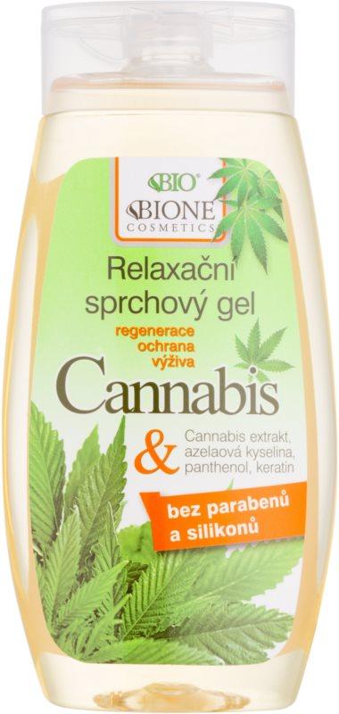 Bione Cosmetics Cannabis gel de duche apaziguador gel de duche apaziguador gel de duche apaziguador