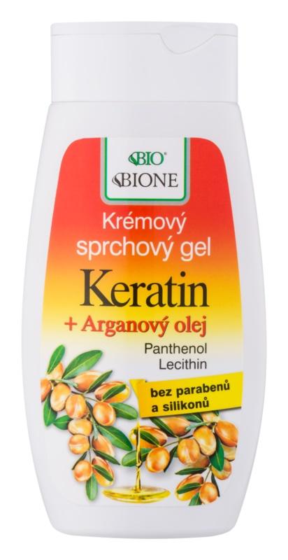 Bione Cosmetics Argan Oil + Karité tusfürdő gél argánolajjal