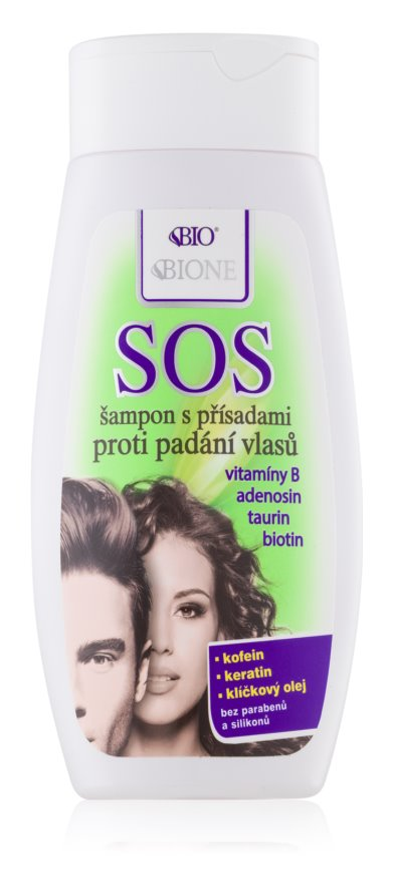 Bione Cosmetics SOS šampon proti řídnutí a padání vlasů