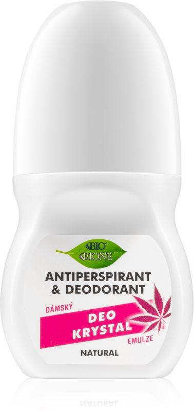 Bione Cosmetics Cannabis guličkový dezodorant roll-on s vôňou ruží