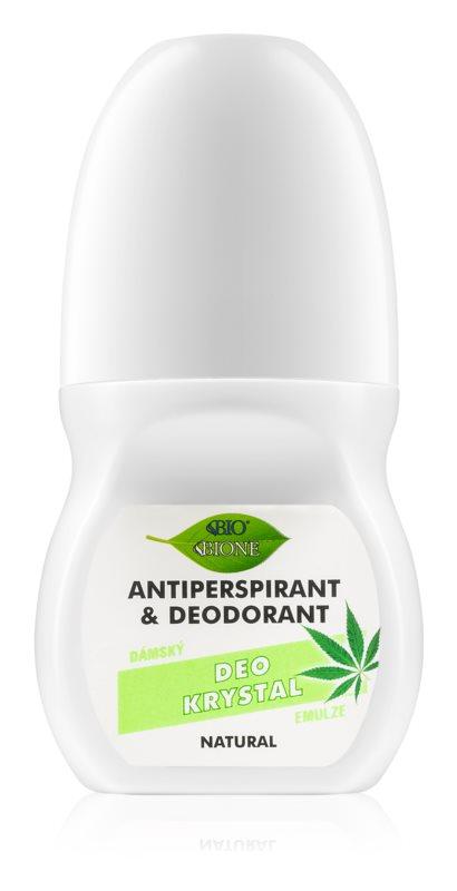 Bione Cosmetics Cannabis dezodorant roll-on s vôňou kvetín