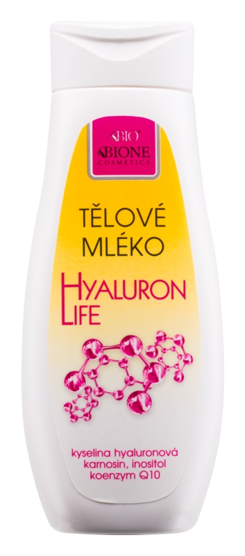 Bione Cosmetics Hyaluron Life mlijeko za tijelo s hijaluronskom kiselinom