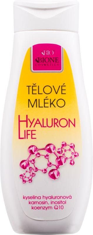 Bione Cosmetics Hyaluron Life telové mlieko s kyselinou hyalurónovou