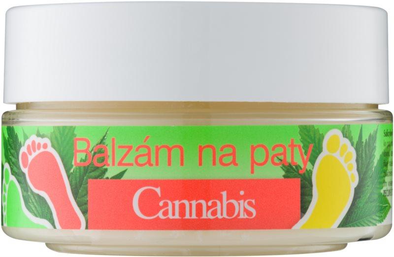 Bione Cosmetics Cannabis balzam na stvrdnutú pokožku na päty
