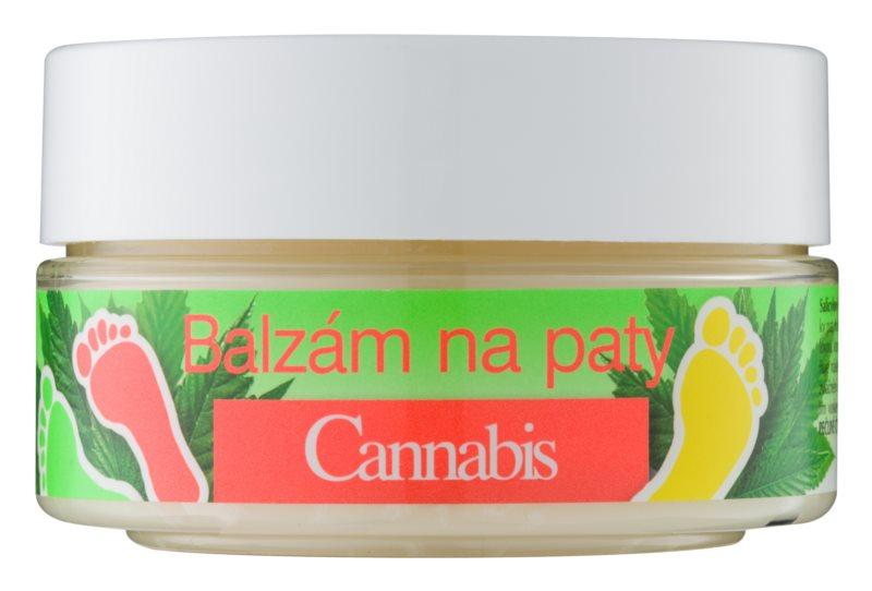 Bione Cosmetics Cannabis бальзам для затверділої шкіри для п'ят