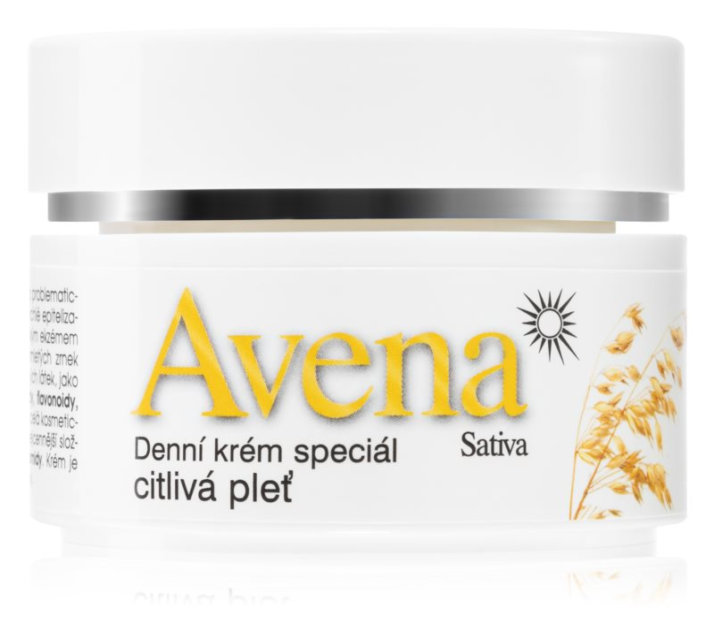 Bione Cosmetics Avena Sativa dnevna krema za občutljivo kožo