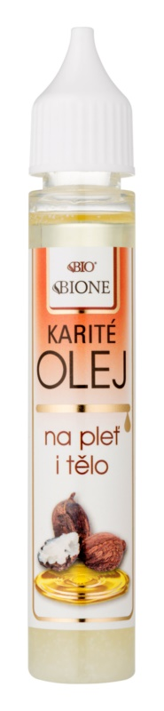 Bione Cosmetics Face and Body Oil Shea Oil for Face and Body