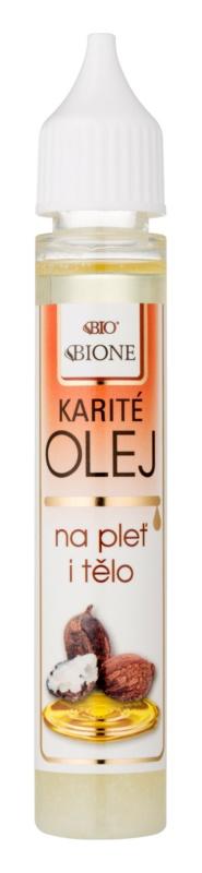 Bione Cosmetics Face and Body Oil Shea-Öl Für Gesicht und Körper