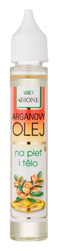 Bione Cosmetics Face and Body Oil arganový olej na obličej a tělo