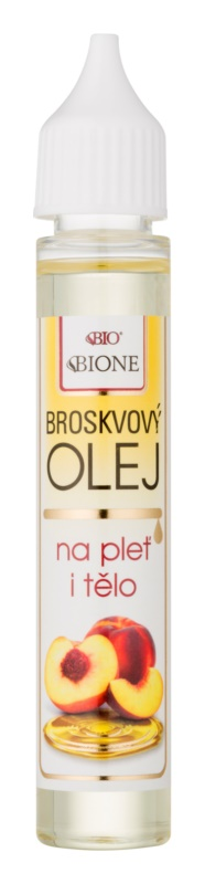 Bione Cosmetics Face and Body Oil huile cosmétique de pêche  visage et corps