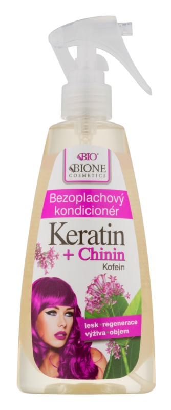 Bione Cosmetics Keratin + Chinin Leave-In Conditioner