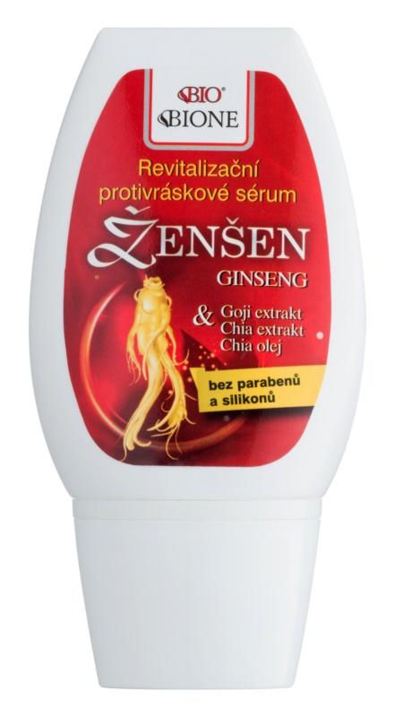 Bione Cosmetics Ginseng Goji + Chia revitalizáló arcszérum