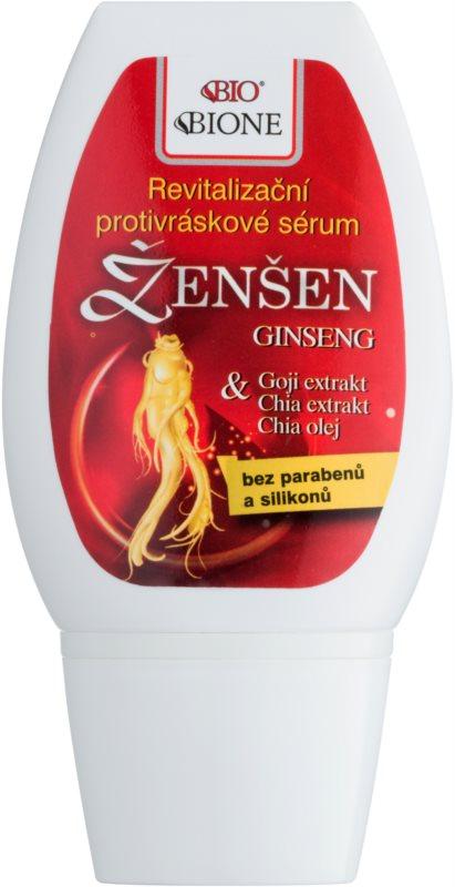 Bione Cosmetics Ginseng Goji + Chia Ser facial revitalizant