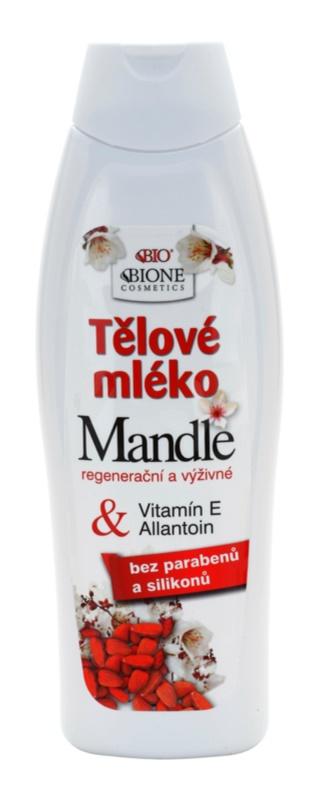 Bione Cosmetics Almonds поживне молочко для тіла з мигдалевою олією