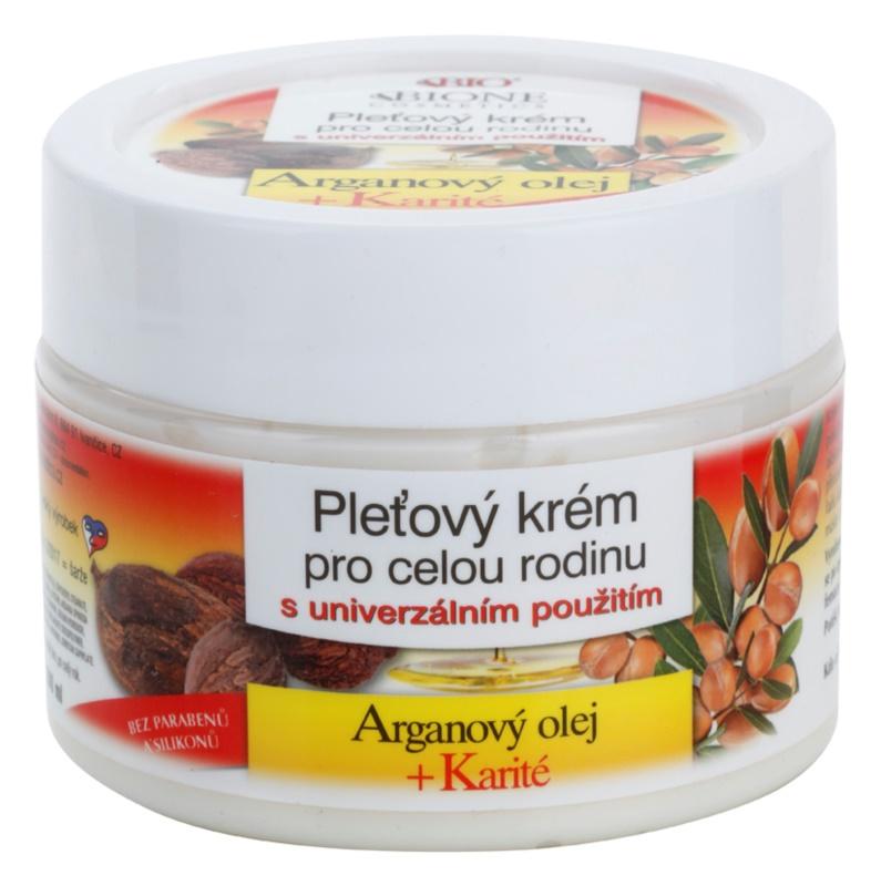 Bione Cosmetics Argan Oil + Karité arckrém az egész családnak