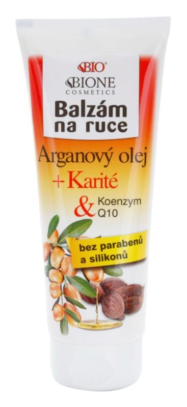 Bione Cosmetics Argan Oil + Karité bálsamo de manos
