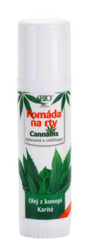 Bione Cosmetics Cannabis pomáda na pery