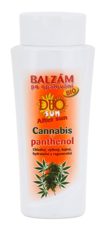 Bione Cosmetics DUO SUN Cannabis βάλσαμο για μετά την ηλιοθεραπεία με πανθενόλη