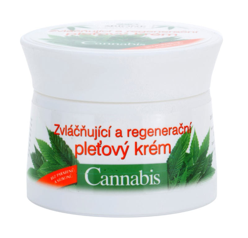 Bione Cosmetics Cannabis crème régénérante visage