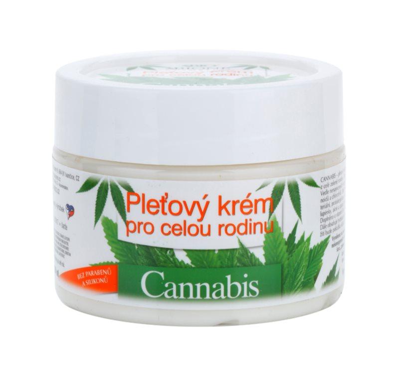 Bione Cosmetics Cannabis pleťový krém pre celú rodinu