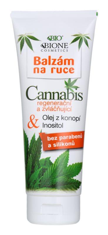 Bione Cosmetics Cannabis bálsamo regenerador e hidratante para as mãos