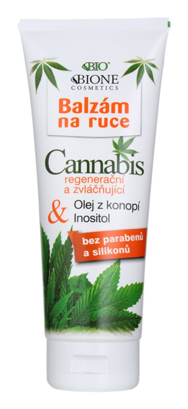Bione Cosmetics Cannabis mleczko rąk regenerująco-nawilżające