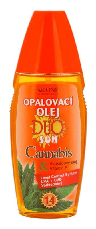 Bione Cosmetics DUO SUN Cannabis Sun Oil In Spray SPF 14
