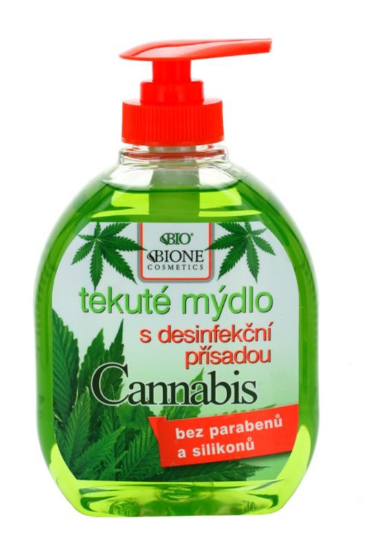 Bione Cosmetics Cannabis Sapun antibacterial de maini
