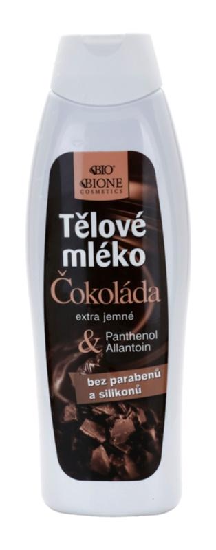 Bione Cosmetics Chocolate extra gyengéd testápoló tej