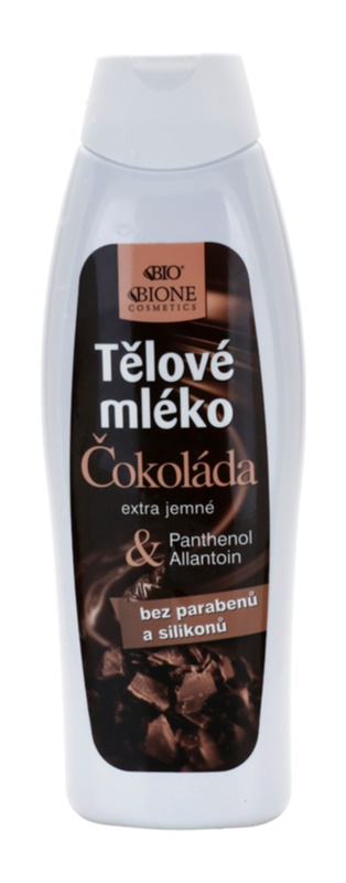 Bione Cosmetics Chocolate lait corporel extra-doux