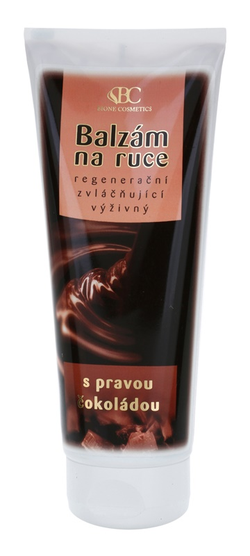 Bione Cosmetics Chocolate balsam de maini regenerator