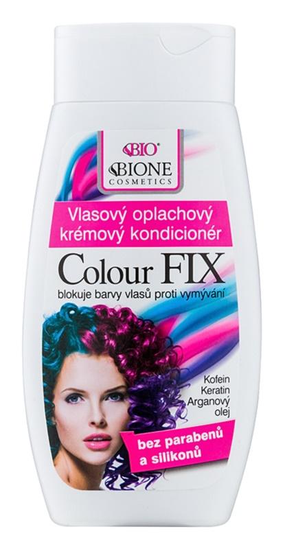 Bione Cosmetics Colour Fix condicionador em creme para os cabelos para proteção da cor