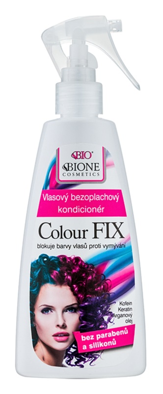 Bione Cosmetics Colour Fix Conditioner ohne Ausspülen zum Schutz der Farbe