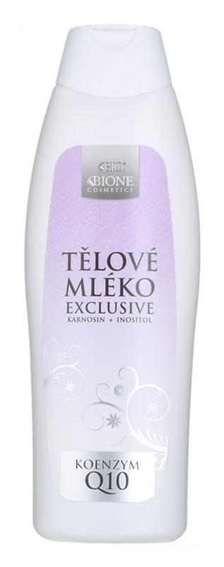 Bione Cosmetics Exclusive Q10 lait corporel hydratant et adoucissant