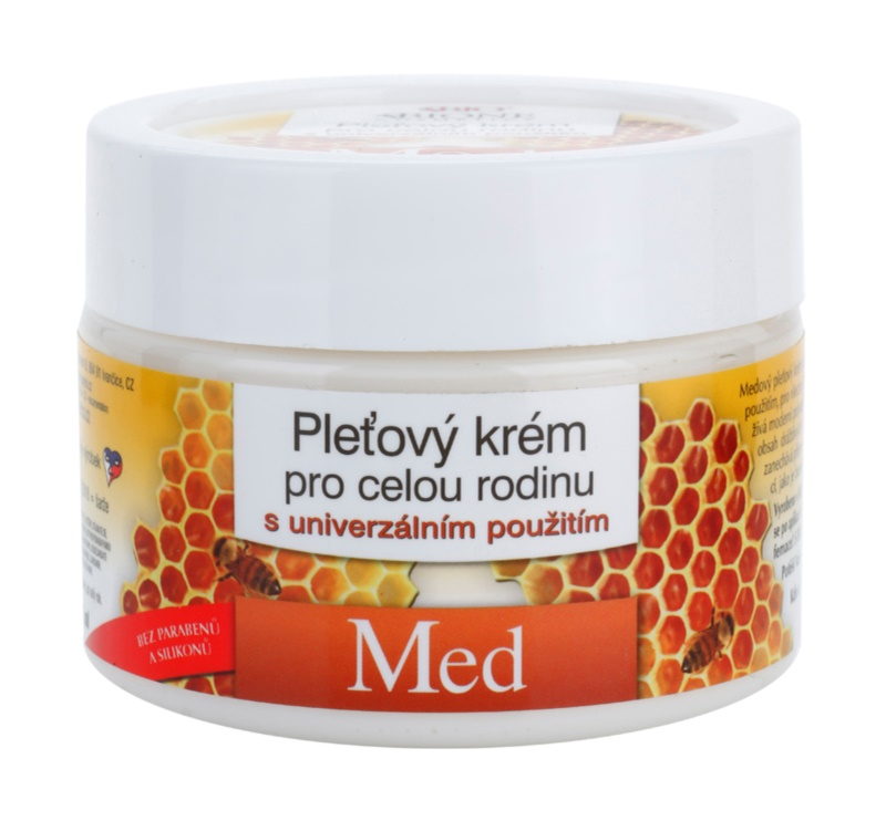 Bione Cosmetics Honey + Q10 Gezichtscrème voor Heel Gezin  met Honing